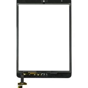 iPad Mini 1/2 Digitizer Touch Screen with Adhesive Tape – White