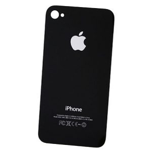 iPhone 4 Rear Glass Cover Black