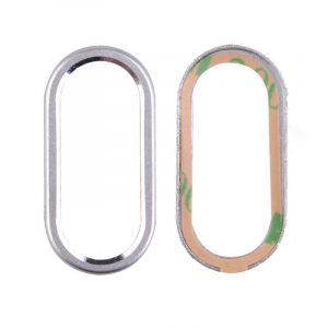 iPhone XS Rear Camera Lens Ring – Silver
