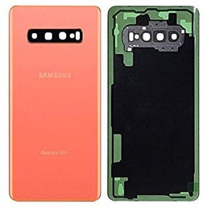Galaxy S10 (G973) Rear Glass With Camera Lens  – Flaming Pink