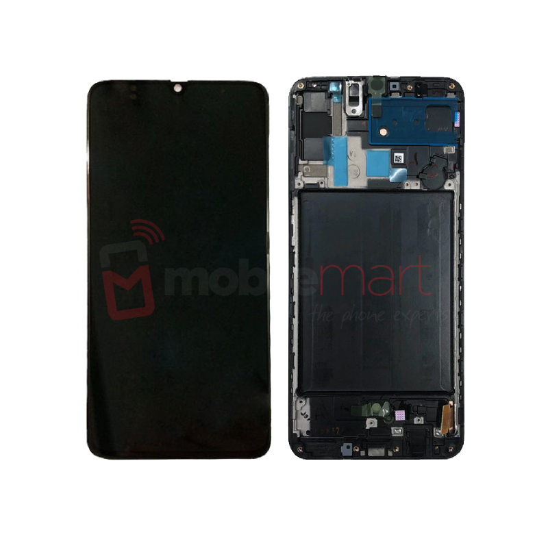 Galaxy A70 (A705) Service Pack LCD Display & Touch Replacement Black