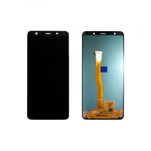Galaxy A7 2018 A750 Service Pack LCD Display & Touch Replacement Black