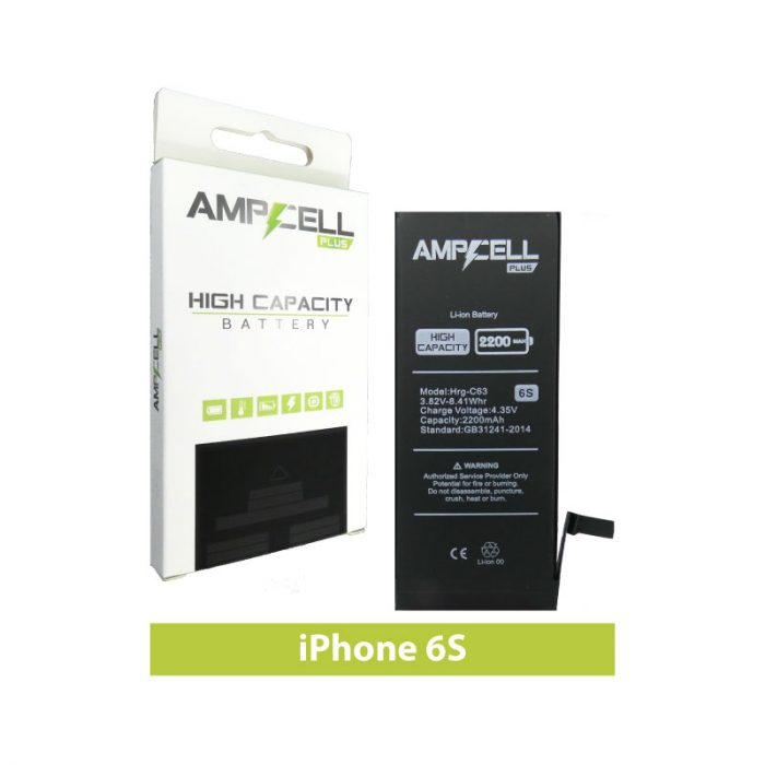 Ampcell Plus Battery for iPhone 6S
