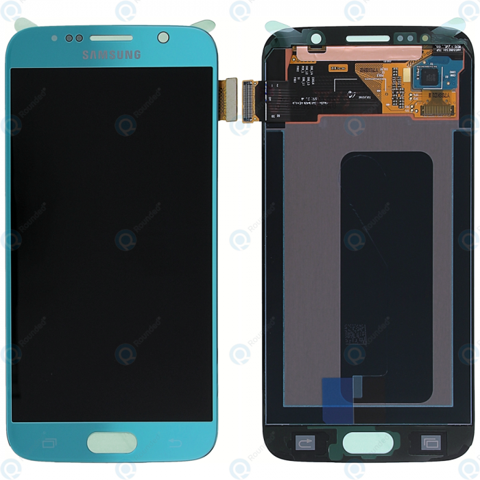 Galaxy S6 G920I Service Pack LCD Display & Touch Replacement Blue