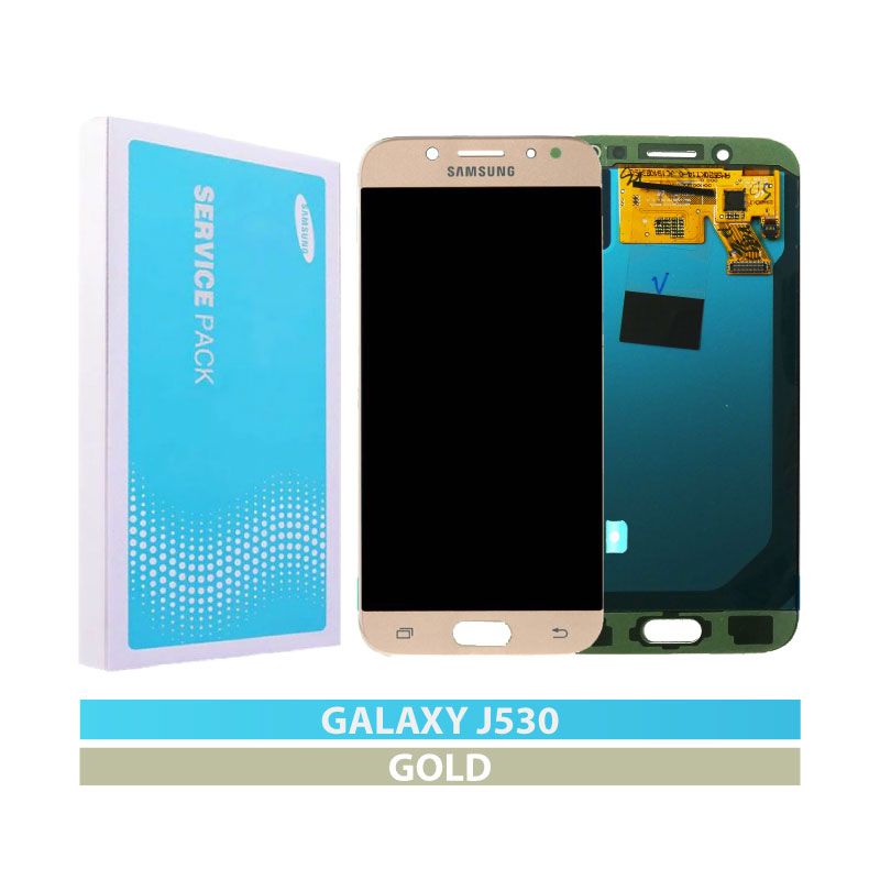 Galaxy J5 2017 Pro (J530) Service Pack LCD and Digitizer Touch Screen Assembly – Gold