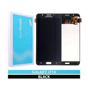 Galaxy J7 2016 J710 Service Pack LCD Display & Touch Replacement Black