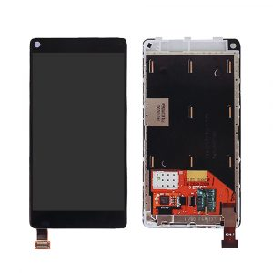 Nokia N9 LCD and Digitizer Touch Screen Assembly – Black