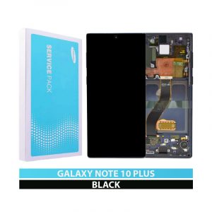 Galaxy Note 10 Plus N975 Service Pack LCD Display & Touch Replacement Black