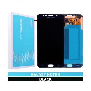 Galaxy Note 5 N920I Service Pack LCD Display & Touch Replacement Black