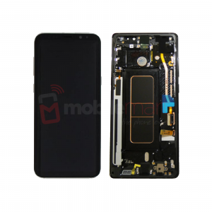 Galaxy Note 8 N950F Service Pack LCD Display & Touch Replacement Black
