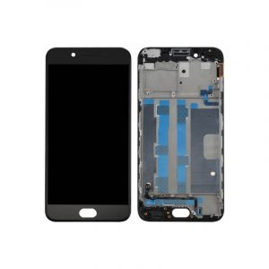 Oppo R9 LCD and Digitizer Touch Screen Assembly – Black