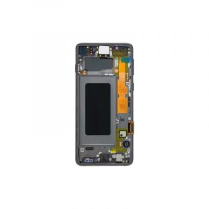 Galaxy S10 G973 Service Pack LCD Display & Touch Replacement Black