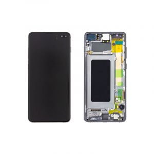Galaxy S10 Plus G975 Service Pack LCD Display & Touch Replacement Black