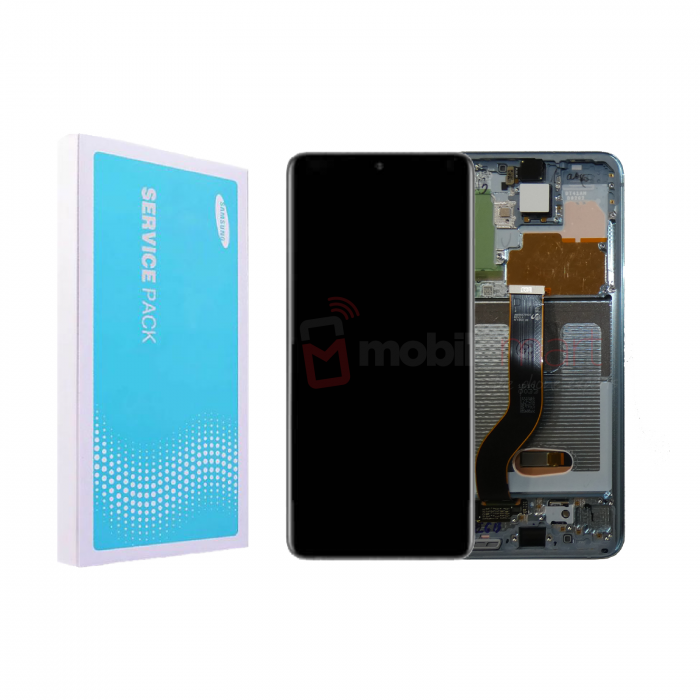 Galaxy S20 Plus G985 / S20 Plus 5G 986 Service Pack LCD Display & Touch Replacement Blue