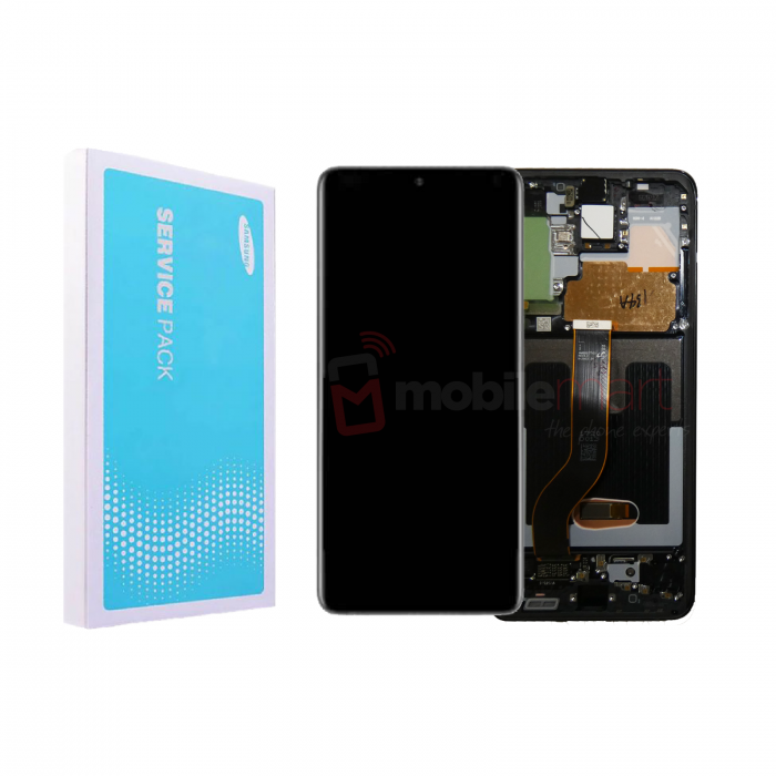 Galaxy S20 Plus G985 / S20 Plus 5G G986 Service Pack LCD Display & Touch Replacement Black