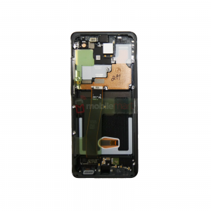 Galaxy S20 Ultra 5G G988 Service Pack LCD Display & Touch Replacement Black