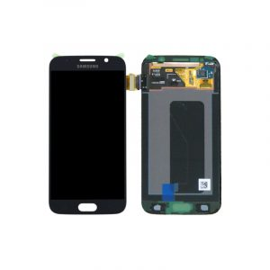 Galaxy S6 (G920I) Service Pack LCD Display & Touch Replacement Black