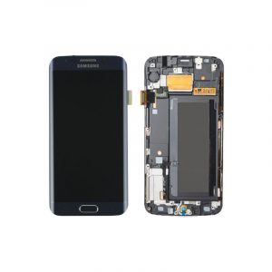 Galaxy S6 Edge G925I Service Pack LCD Display and Touch Replacement Black