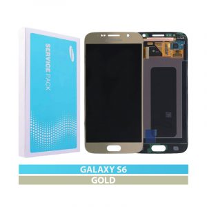 Galaxy S6 (G920I) Service Pack LCD Display & Touch Replacement Gold