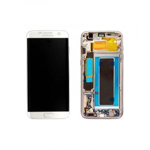 Galaxy S7 Edge Service Pack LCD Display and Touch Replacement Silver