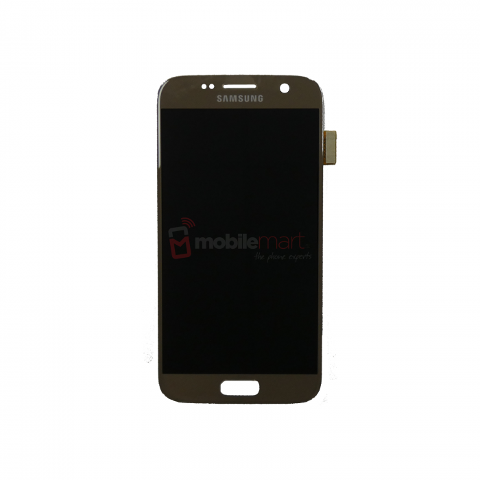 Galaxy S7 (G930F) Service Pack LCD Display & Touch Replacement Gold