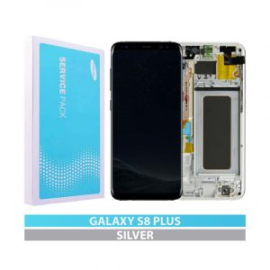 Galaxy S8 Plus (G955F) Service Pack LCD Display & Touch Replacement Silver