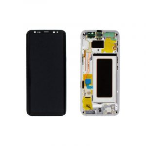 Galaxy S8 (G950F) Service Pack LCD Display and Touch Replacement Silver