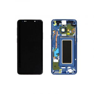 Galaxy S9 G960F Service Pack LCD Display & Touch Replacement Blue