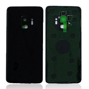 Galaxy S9 (G960) Rear Glass With Camera Lens – Black