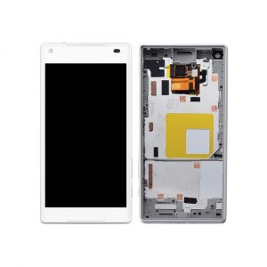 Xperia Z5 Compact LCD and Digitizer Touch Screen Assembly (W/F) – White