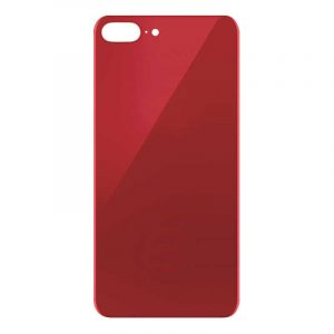 iPhone 8 Plus Rear Glass (Big Hole) – Red